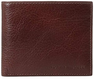 Tommy Hilfiger Slim Thin Leather Bifold Passcase with Removable Flipout Card Holder