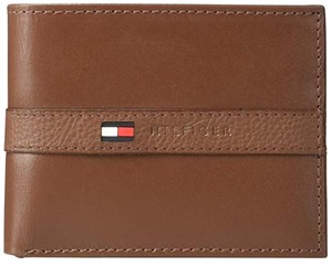 Tommy Hilfiger Thin Sleek Bifold Wallet with 6 Credit Card Pockets
