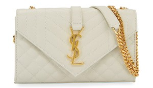Saint Laurent Tote in Off white