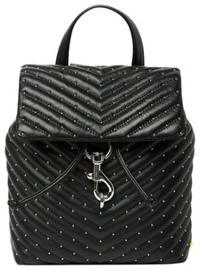 Rebecca Minkoff Studded Rocker Chevron Saint Laurent Backpack