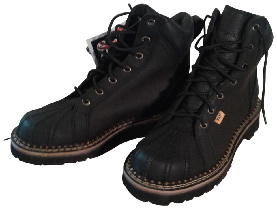a0d35a2c53f Black Hiking Boots/Booties