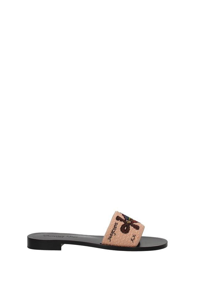 how to choose new high differently Dior Multicolor Slippers and Women Mules/Slides Size EU 36.5 (Approx. US  6.5) Regular (M, B)