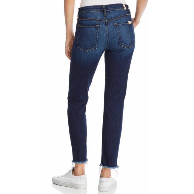 7 For All Mankind Straight Leg Jeans-Medium Wash Image 1