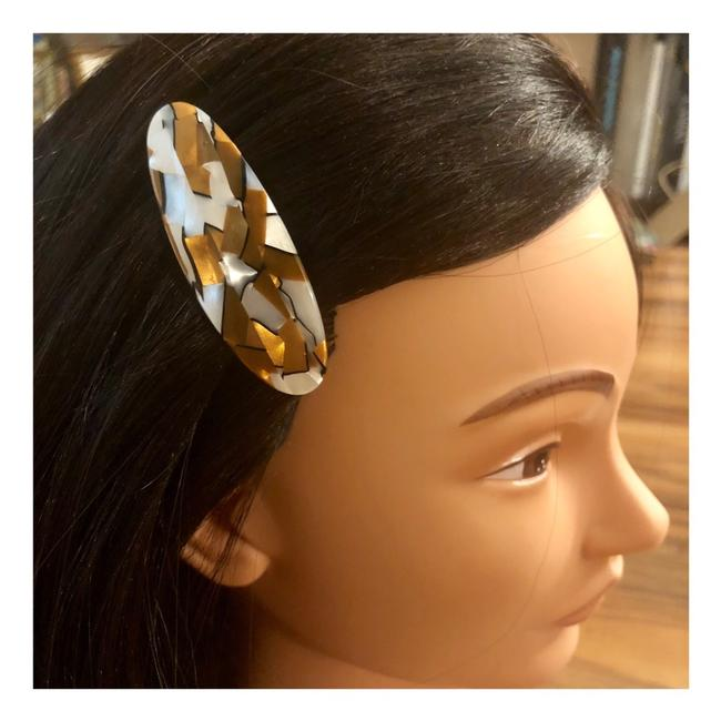 Vintage French Barrette Hair Accessory Vintage French Barrette Hair Accessory Image 1