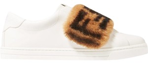 Fendi Sneaker Sheepskin Ff Logo Athletic