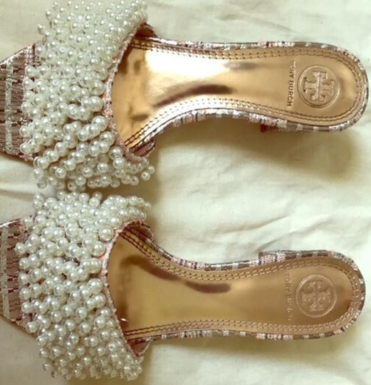 Tory Burch Gold pink Sandals Image 3