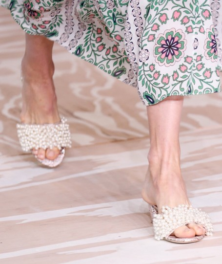Tory Burch Gold pink Sandals Image 4
