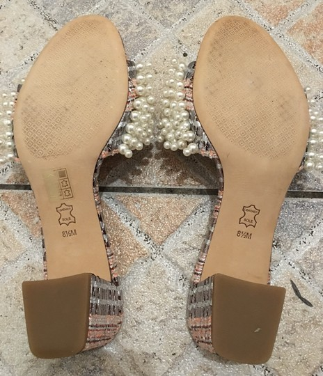 Tory Burch Gold pink Sandals Image 5