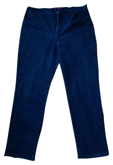 Item - Dark Blue Rinse Relaxed Fit Jeans Size 16 (XL, Plus 0x)