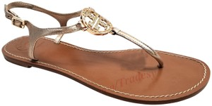 Tory Burch Rose gold Metallic Sandals