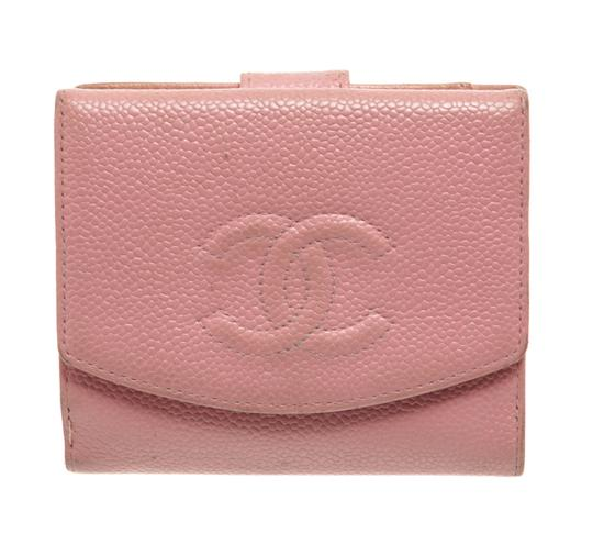 Preload https://img-static.tradesy.com/item/25667207/chanel-pink-caviar-leather-vintage-timeless-compact-wallet-0-0-540-540.jpg