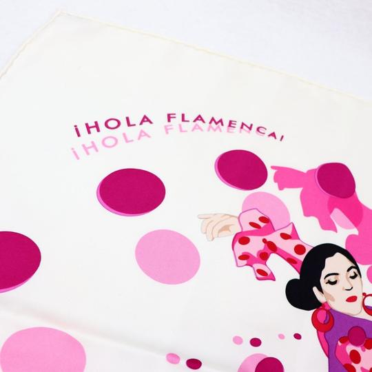 Hermès Hermes HOLA FLAMENCA Silk Scarf - Excellent Condition Image 3
