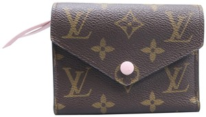 Louis Vuitton Louis Vuitton Brown Victorine Canvas Monogram Wallet