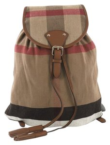 Burberry Canvas Backpack