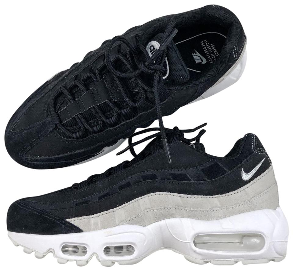 quality design c6b44 bd11b Nike Black Women's Air Max 95 Premium Design with Premium Materials For An  Elevated Look. Style/Color: 807443-017 Sneakers Size US 7.5 Narrow (Aa, N)  ...