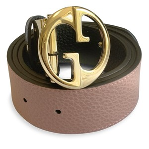 Gucci New 100% Authentic Gucci GG Reversible Belt Size 85/34 Black / Pink