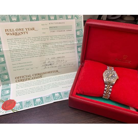 Rolex Rolex 79173 Datejust Two Tone AM Diamond Dial and Bezel Ladies Watch Image 10