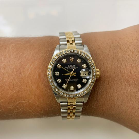 Rolex Rolex 79173 Datejust Two Tone AM Diamond Dial and Bezel Ladies Watch Image 11