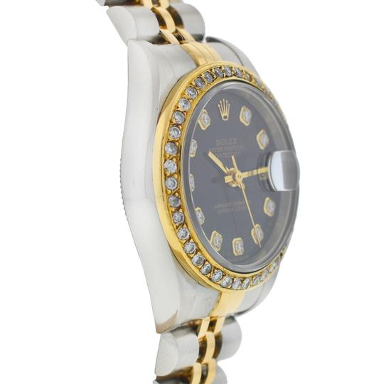 Rolex Rolex 79173 Datejust Two Tone AM Diamond Dial and Bezel Ladies Watch Image 3