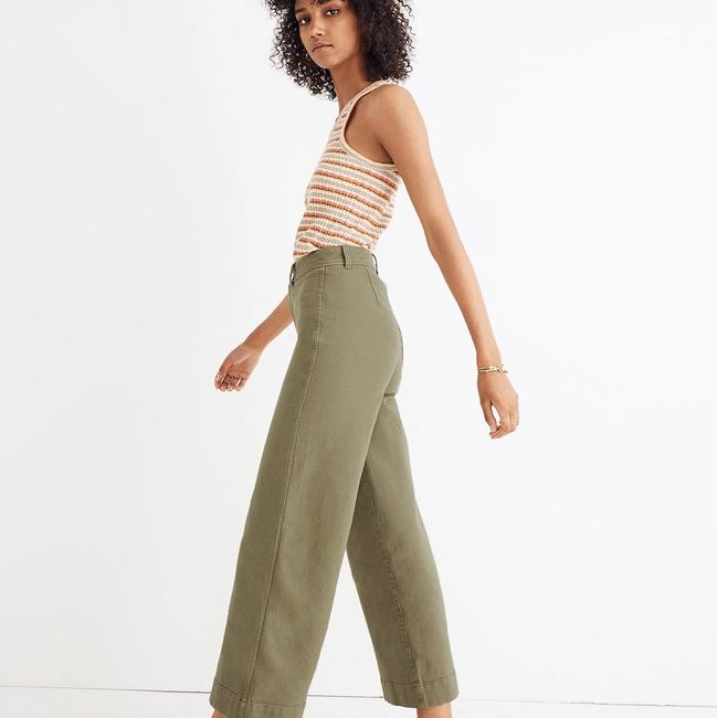 Madewell Trouser/Wide Leg Jeans Image 1