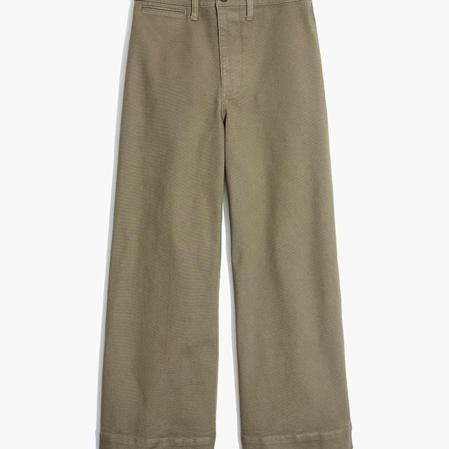Madewell Trouser/Wide Leg Jeans Image 2