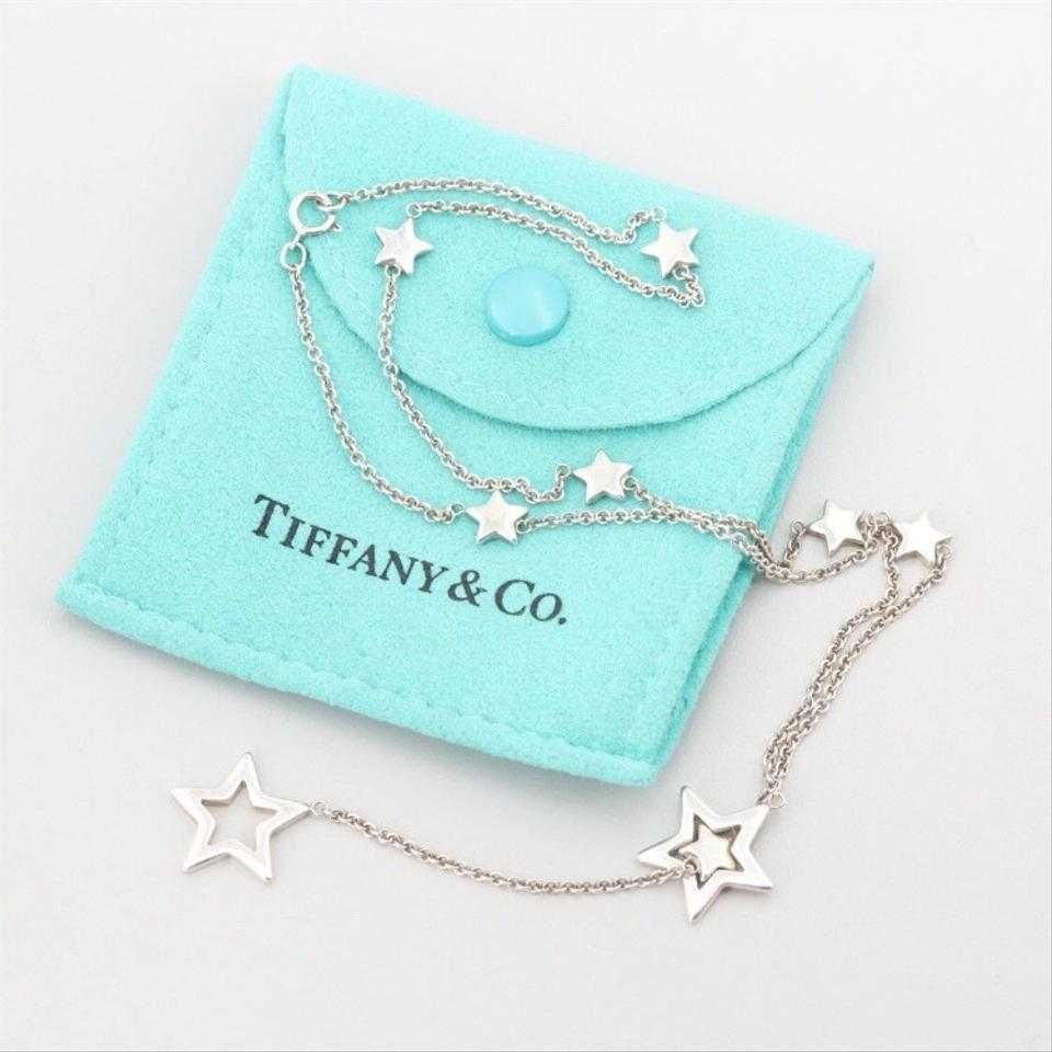 089241adfe2b9 Tiffany & Co. Sterling Silver Star Lariat Necklace 54% off retail