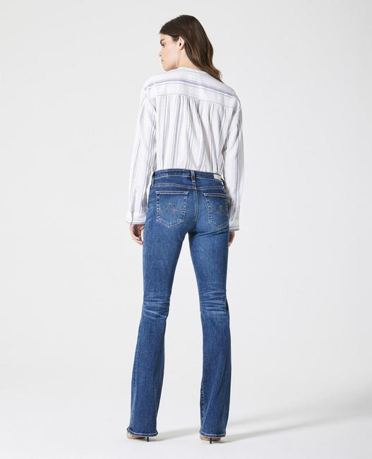 AG Adriano Goldschmied Boot Cut Jeans-Dark Rinse Image 2