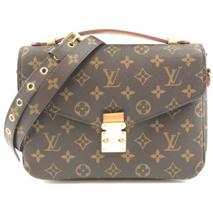 Louis Vuitton Monogram Metis Detachable Strap Canvas Cross Body Bag