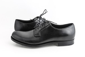Prada Black Oxford Lace-up Shoes