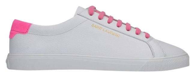 Item - White & Pink Andy Low Top Sneakers Size EU 37.5 (Approx. US 7.5) Regular (M, B)