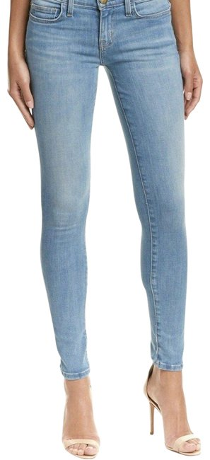 Item - Blue Light Wash The Ankle Skinny Jeans Size 27 (4, S)
