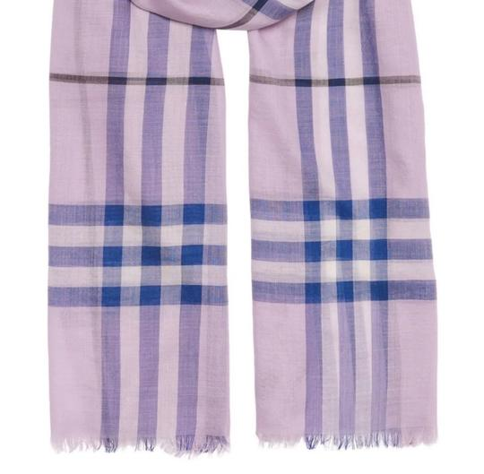 Burberry Giant Check Wool and Silk Scarf Image 1
