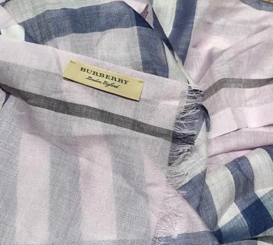 Burberry Giant Check Wool and Silk Scarf Image 3
