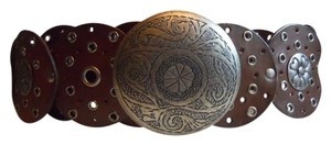unknown Wide leather belt