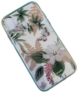 Kate Spade iPhone XR - NWT Kate Spade ' Jeweled Botanical ' COMOLD CASE