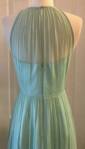 J.Crew Mint Silk Megan Chiffon Seaside Green Feminine Bridesmaid/Mob Dress Size 6 (S)