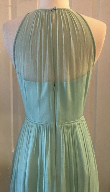 Item - Mint Silk Megan Chiffon Seaside Green Feminine Bridesmaid/Mob Dress Size 6 (S)
