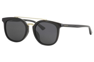Gucci NEW Gucci GG0403SA Oversized Double Bridge Metal Sunglasses