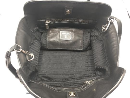 Prada Leather Tote Satchel Cross Body Bag Image 10