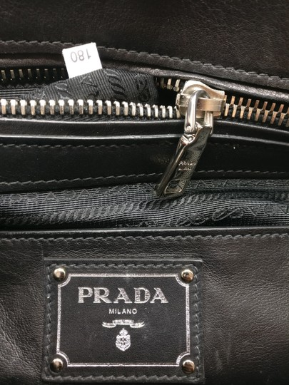 Prada Leather Tote Satchel Cross Body Bag Image 11