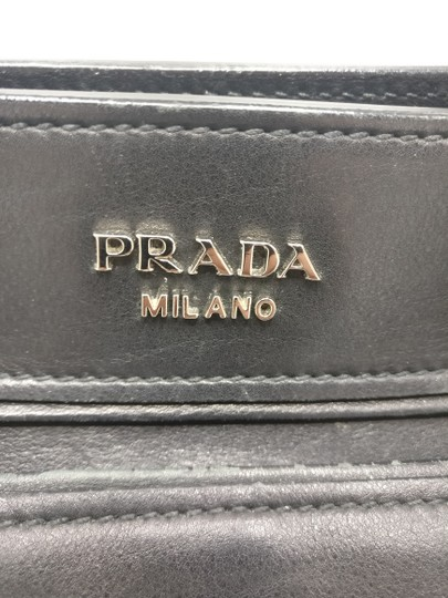 Prada Leather Tote Satchel Cross Body Bag Image 2