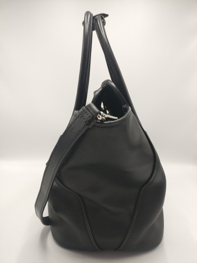 Prada Leather Tote Satchel Cross Body Bag Image 4