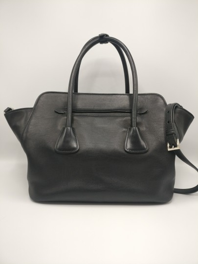 Prada Leather Tote Satchel Cross Body Bag Image 5