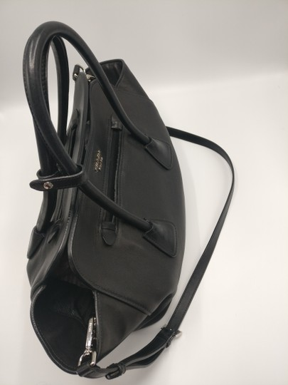 Prada Leather Tote Satchel Cross Body Bag Image 9