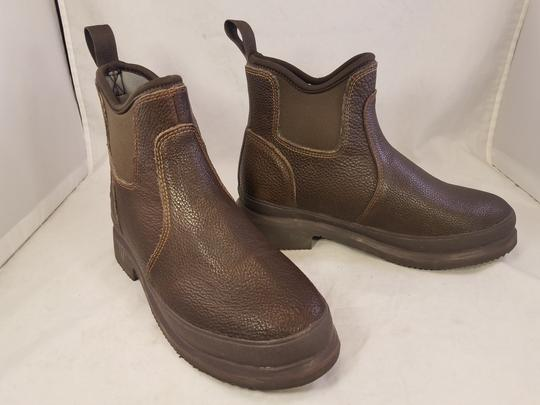 the original muck Man Man Size 7 brown Boots Image 1