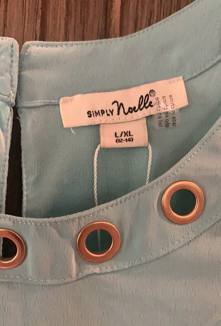 Simply Noelle short dress sky blue on Tradesy Image 3