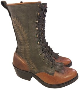 Double-H Boots Woman Victorian Frye Western brown Boots