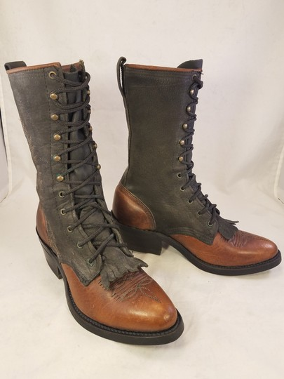 Double-H Boots Woman Victorian Frye Western brown Boots Image 1