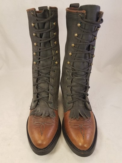 Double-H Boots Woman Victorian Frye Western brown Boots Image 2