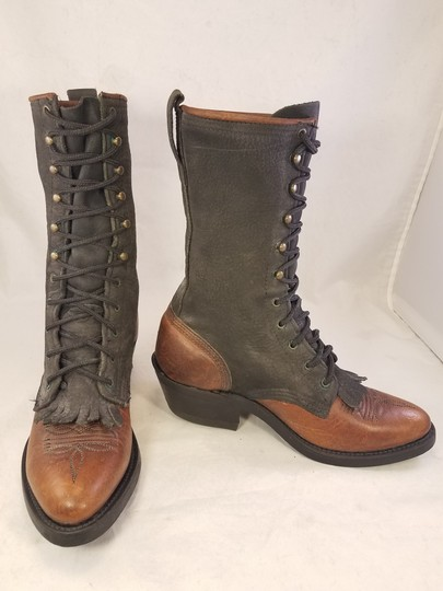 Double-H Boots Woman Victorian Frye Western brown Boots Image 3